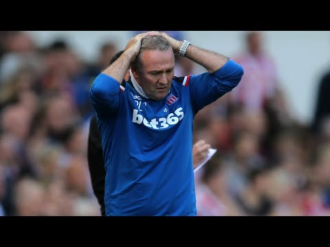 Stoke City manager Paul Lambert 'gutted' after relegation from Premier League