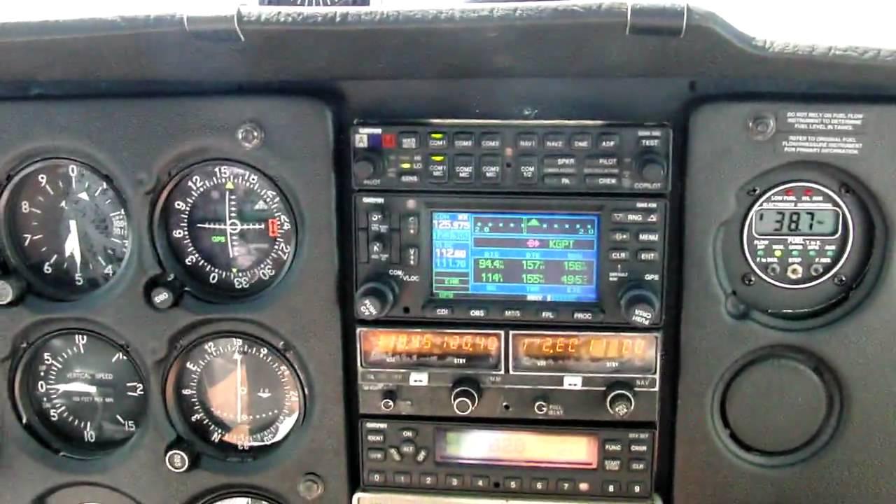 Cessna 172 Instrument Panel - High Definition Video