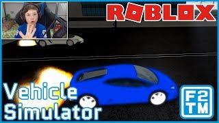 Vehicle Simulator - Roblox (A FAN STOLE ME SWEET RIDE)
