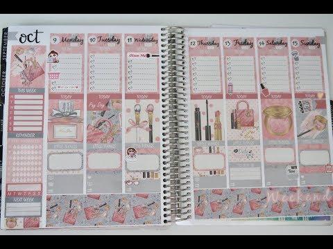 Plan with me Studio Prints & Co // Bellabie Designs // EC Vertical