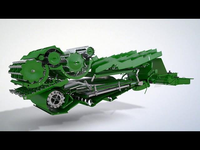 Комбайн серії Т - Система очищення зерна