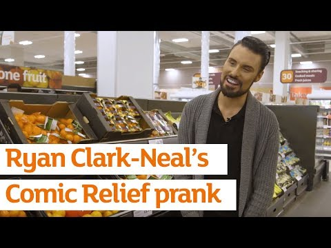 Rylan Clark-Neal pranks shoppers in Sainsbury's for Comic Relief | Sainsbury's