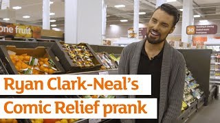 Rylan ClarkNeal pranks shoppers in Sainsbury's for Comic Relief | Sainsbury's