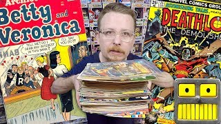 Epic Comic Book Collection Haul Mystery Box Unboxing Key Issue Finds Silver Age Bronze Age Gold Age