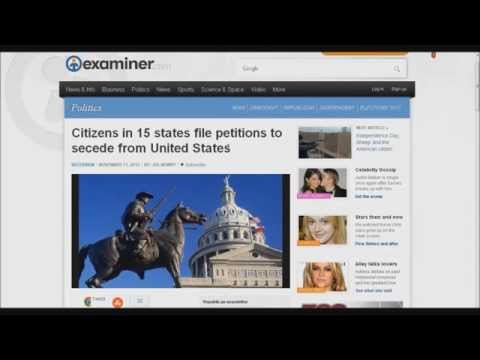 Citizens in all 50 States Files Petitions to Secede from United States: Update 11-14-2012