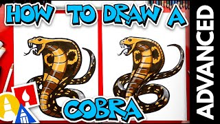 How To Draw A Snake - Cobra - Advanced