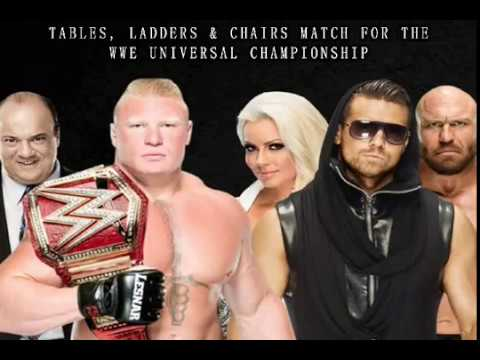 My WWE TLC: Tables, Ladders & Chairs (2016) Results