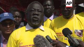 South Sudan launches polio vaccination campaign