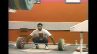 Szymon Kolecki and George Asanidze snatch training