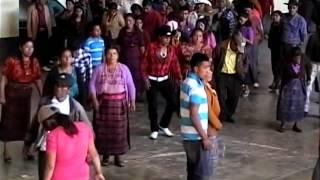 Baile social en san Pedro Soloma 2015