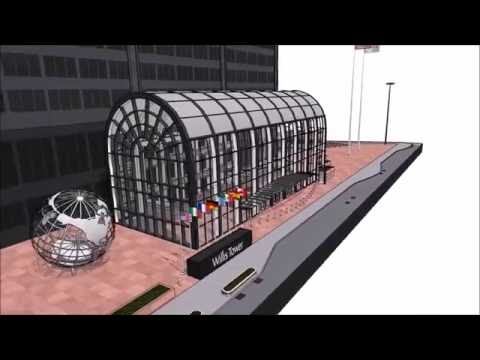 Willis Tower (Sears Tower) 3D Model Sketchup