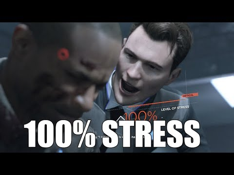 "Detroit Become Human - ""What Happens If"" You Reach 100% Leve"