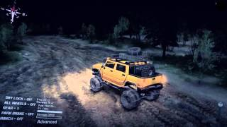 Spin Tires - Hummer physics glitch/fail