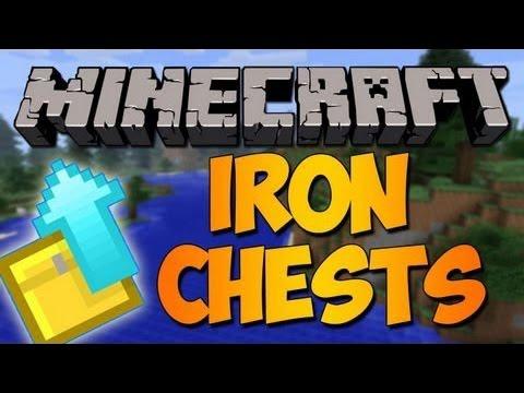 скачать мод для minecraft 1.7 10 iron chest бесплатно