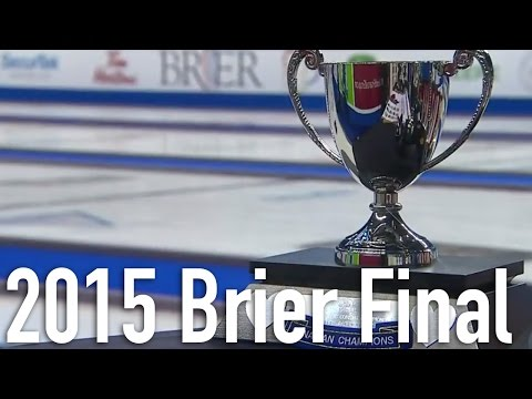 Simmons (CAN) vs. Jacobs (NO) - 2015 Tim Hortons Brier Final