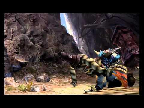 Monster Hunter 4 TGS Trailer