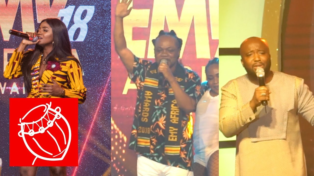 Simi, Daddy Lumba & Trigmatic - Performance at the EMY Awards 2018 | Ghana Music