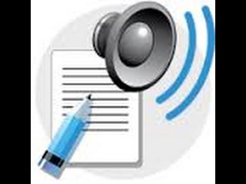 Wordtalk a free text to speech program.