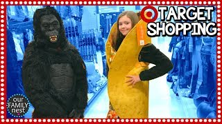 ASHA VLOGS FOR 1ST TIME & WE GO TARGET SHOPPING!