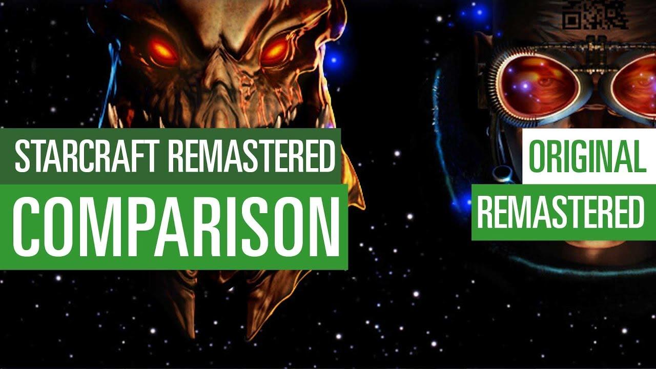 Starcraft Remastered | Original vs  Remastered - Graphics Comparison /  Grafikvergleich