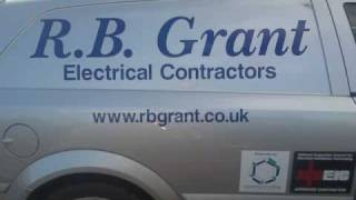 Electrician in Fife , electricians and electrical services RB Grant Security CCTV Scotland