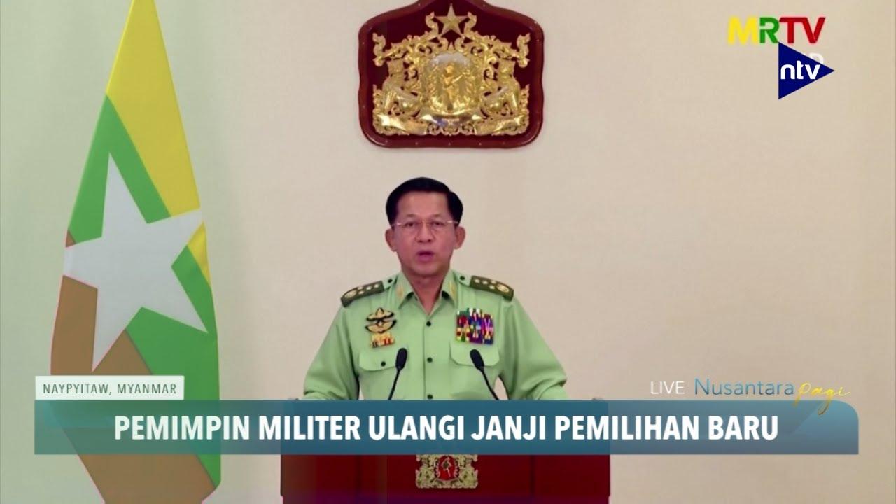 Usai Kudeta, Pemimpin Militer Myanmar Janjikan Pemilihan Baru