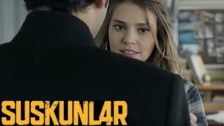 Suskunlar 1. Bölüm - Ecevit ve Ahu'nun karşılaşması!