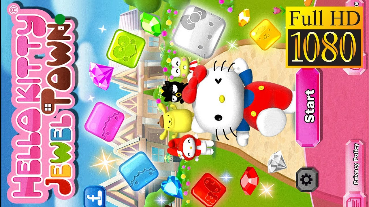 Uncategorized Hello Kitty Matching Game hello kitty jewel town match 3 game review 1080p official sanrio digital puzzle creativity 2016