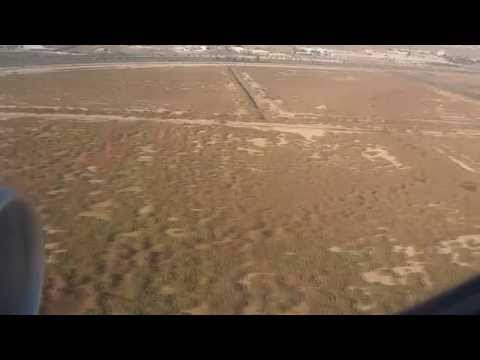 Landing of Iraqi airways in Baghdad international airport FULL HD هبوط لطائرة الخطوط الجوية العراقية