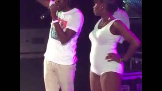 Shortpree Live At Girls Invasion Glow in Grenada Pt.1 (June 2016)