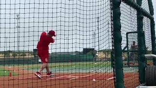 Take a look at Paul Goldschmidt during batting practice