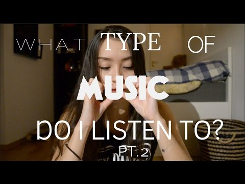 WHAT TYPE OF MUSIC DO I LISTEN TO? (pt.2) | Iselin Martinsen