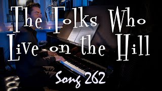 The Folks Who Live on the Hill - Tony DeSare Song Diary 262