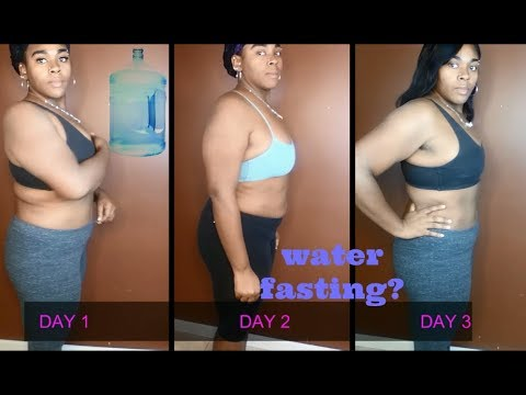 EXTREME 3 DAY WATER FASTING 27 POUNDS DOWN || Kahleia E'Loria