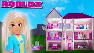 I MADE BARBIE'S DREAM HOUSE | Bloxburg Builds | Roblox