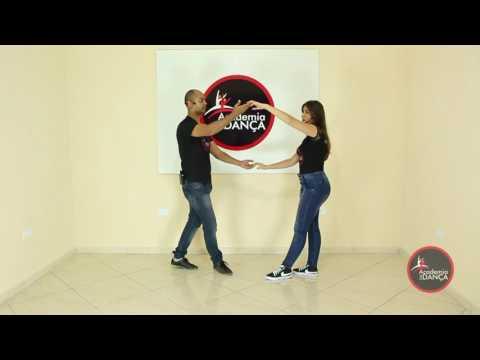 Como Dançar Forró - Chave de Braço-  8  Academia da Dança