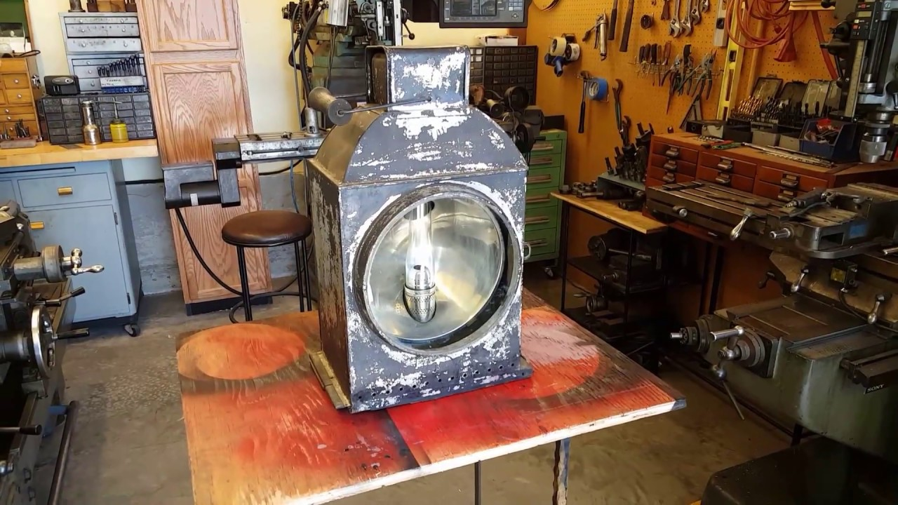 Steam Engine Headlight Tractor Locomotive Boiler Gauge
