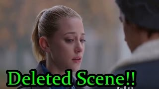 riverdale   deleted bughead scene leaked   betty jughead have a moment