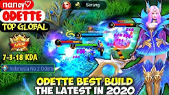 ODETTE BEST BUILD IN 2020 | TOP GLOBAL ODETTE пαпcy♡ - MOBILE LEGEND