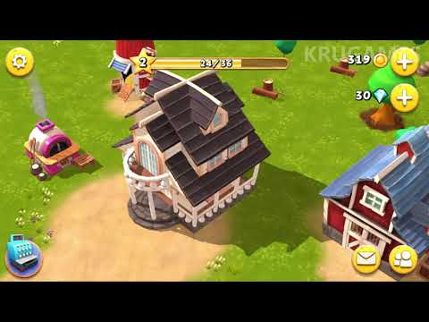 Happy Town Farm - Farming Games For Free Android Gameplay