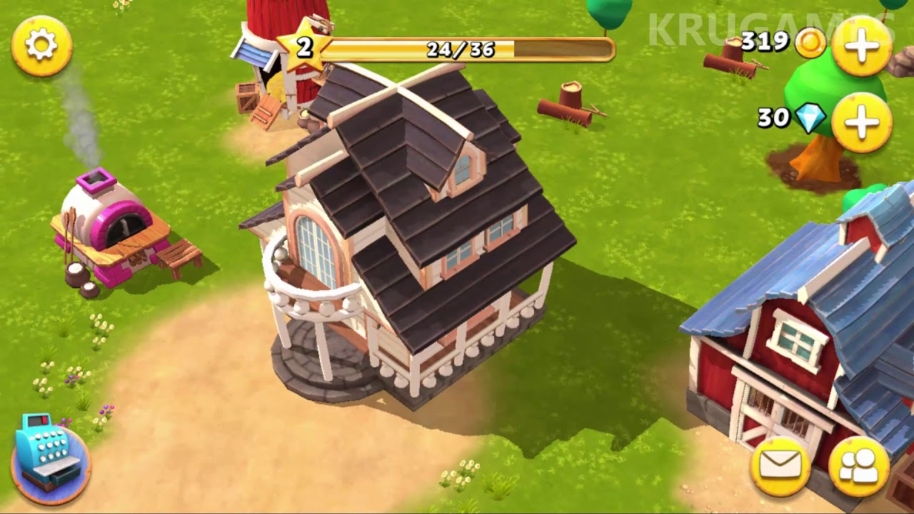 Happy Town Farm – Farming Games for Free Android Gameplay