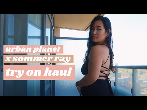 Urban Planet TRY ON Haul 2021   Sommer Ray Collection 🛍