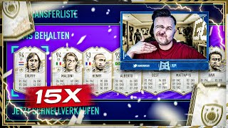 15x PRIME ICON PACKS Opening 😱 XXL Prime ICON SBC Pack Experiment 🔥