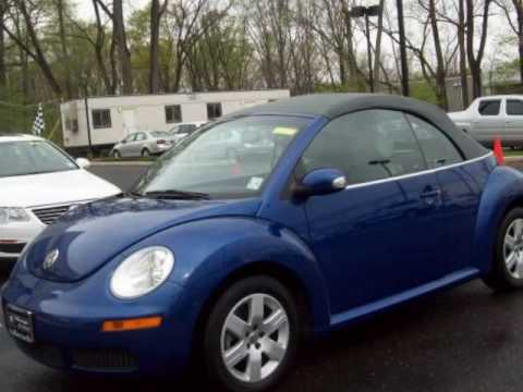 2007 VOLKSWAGEN New Beetle Convertible 2dr Auto Toms River Trenton Freehold NJ New Jersey