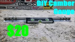 homepage tile video photo for DIY $20 Camber Gauge