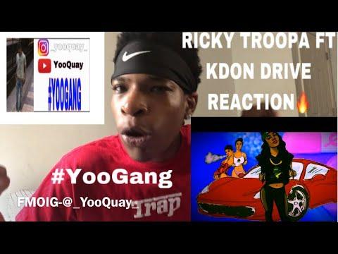 RICKY TROOPA FT KDON DRIVE REACTION 🔥