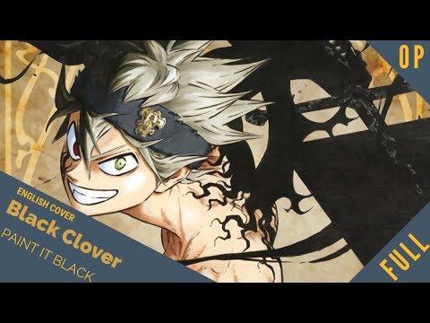 "「English Cover」Black Clover OP 2 ""Paint It Black"" FULL VER. 『 ブラッククローバー』【Sam Luff】 - Studio Yuraki"