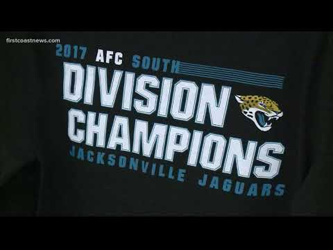 Jaguars clinch first AFC South division title, fans scramble for merchandise