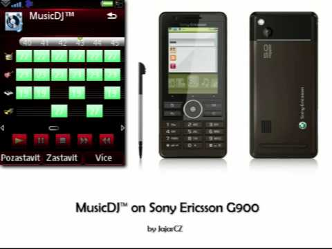 MusicDJ on Sony Ericsson G900