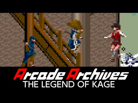 Classic arcade actioner The Legend of Kage resurfaces on Nintendo Switch